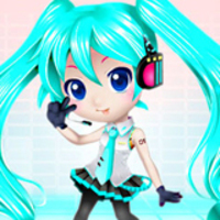 Miko Hatsune Dress Up