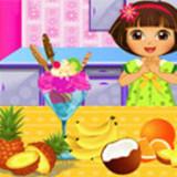 Dora Blueberry Ice Cream