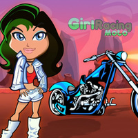 Girl Moto Racing
