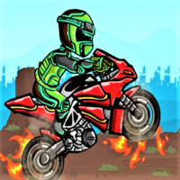 Biker Burnout Game