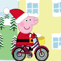 Game Gratis Populer,		Peppa Pig Christmas Delivery is a Racing game. You can play Peppa Pig Christmas Delivery in your browser for free. It is Christmas time. Peppa Pig wants to delivery gifts to her family and friends. Each of her family and friends are asking for different kind of presents. Help peppa pig delivery the right gifts to the right person. 		Control: use keyboard to play
