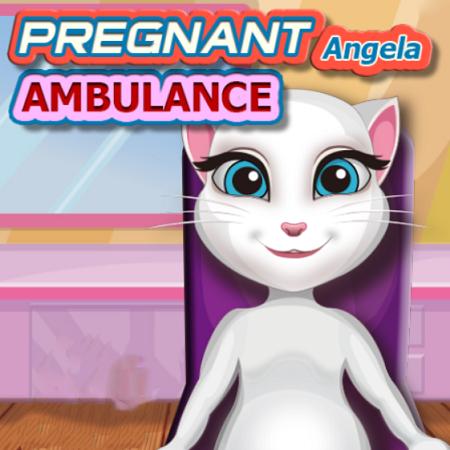 Pregnant Angela Ambulance
