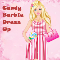 Candy Barbie Dress Up