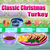 人気のある無料ゲーム,Thousands will be eating turkey on Christmas. Let Cooking Master give you the hints to make the Christmas turkey right and delicious! Cooking turkey is a time consuming job but we will make it easier! Just follow our instructions and everything will be just fine!