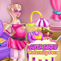 Super Barbie Maternity Deco