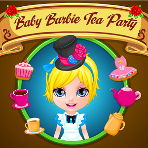 Baby Barbie Tea Party