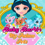 Baby Barbie My Palace Pets