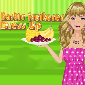 Barbie Fruiterer Dress Up