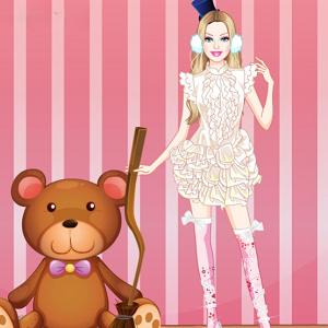 Barbie Puppet Princess Dress Up