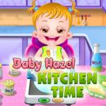 Baby Hazel: Kitchen Time