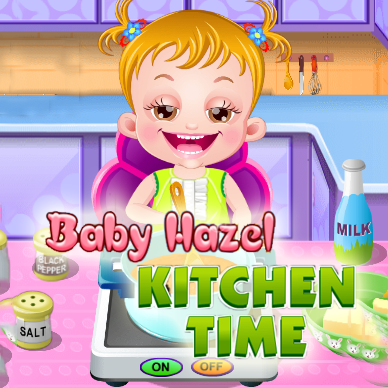 Baby Hazel: Kitchen Time
