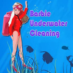 Barbie Underwater Cleaning