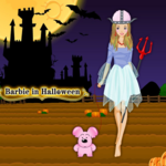 Barbie In Halloween