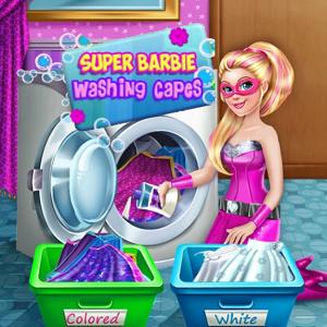 Super Barbie Washing Capes