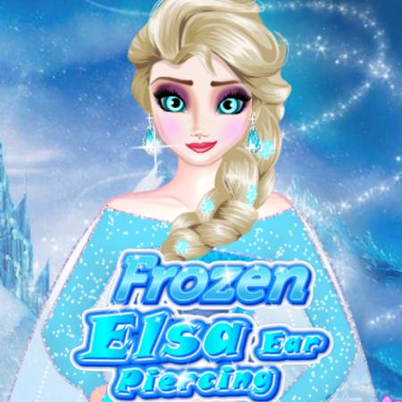 Frozen Elsa Ear Piercing