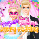 Super Barbie luxury wedding