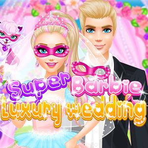 Super Barbie luxury wedding