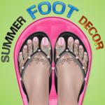 Summer Foot Décor