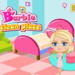 Barbie Clean Place