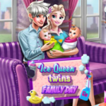 Ice Queen Twins: Family Day