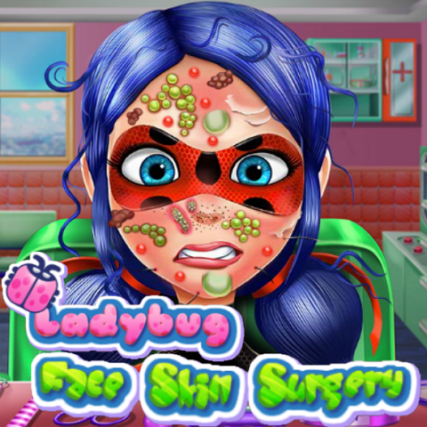 Ladybug: Face Skin Surgery