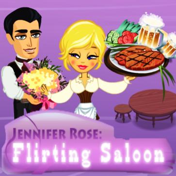 Jennifer Rose: Flirting Saloon