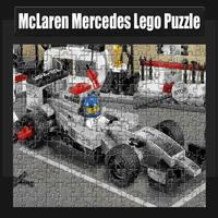 Mclaren Mercedes Lego Puzzle