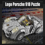 Lego: Porsche 918 Puzzle
