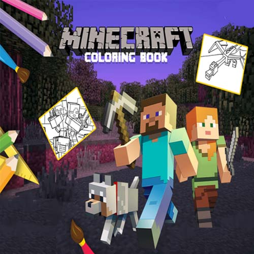 Minecraft: Coloring Book