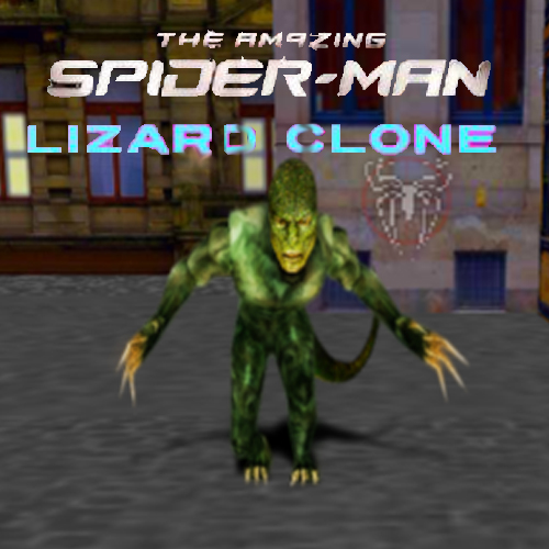 The Amazing Spiderman Lizard Clone