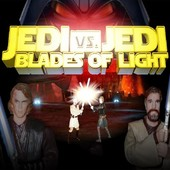 Jedi Vs. Jedi Blades Of Light