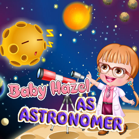 Baby Hazel: As Astronomer