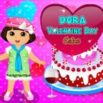 Dora: Valentine Day Cake