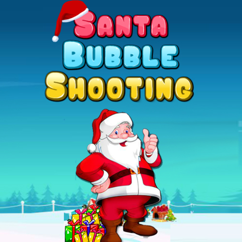 Santa Bubble Shooting