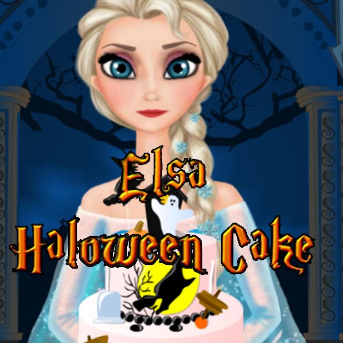 Elsa: Halloween Cake