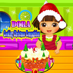 Dora: Cooking Christmas Competition