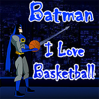Batman I Love Basketball