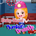 Baby Hazel: Plumber DressUp
