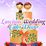 Luscious Wedding Cake Decor