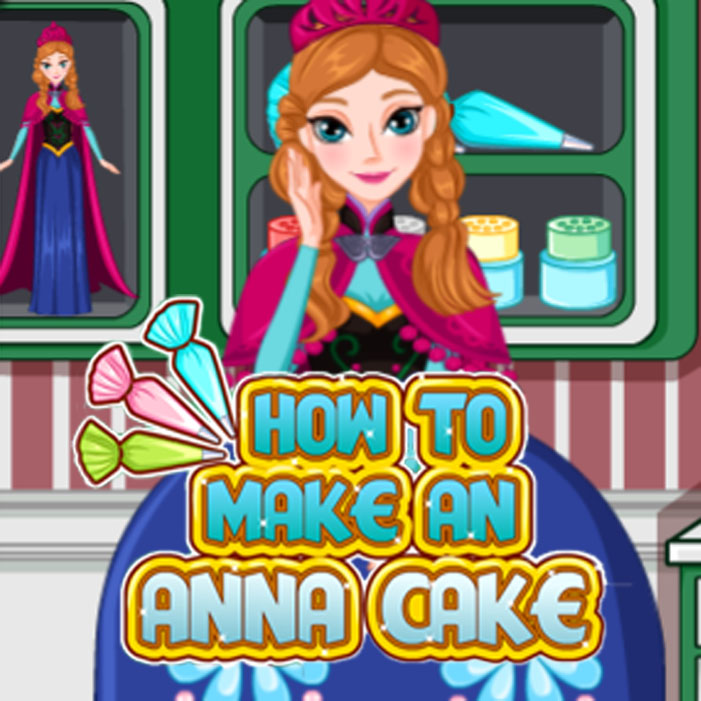 How to Make an Anna Cake