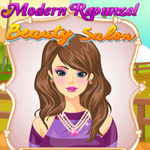 Modern Rapunzel: Beauty Salon