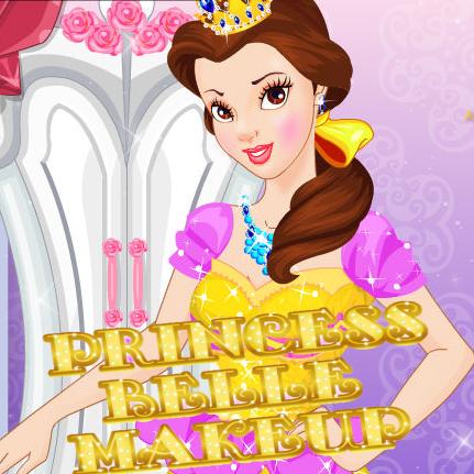 Princess Belle: Makeup