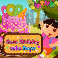 Dora Birthday Cake Decor