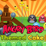 Angry Bird: Themed Cake