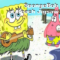 SpongeBob: At Beach Jigsaw