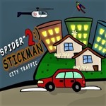 Spider Stickman 2: City Traffic