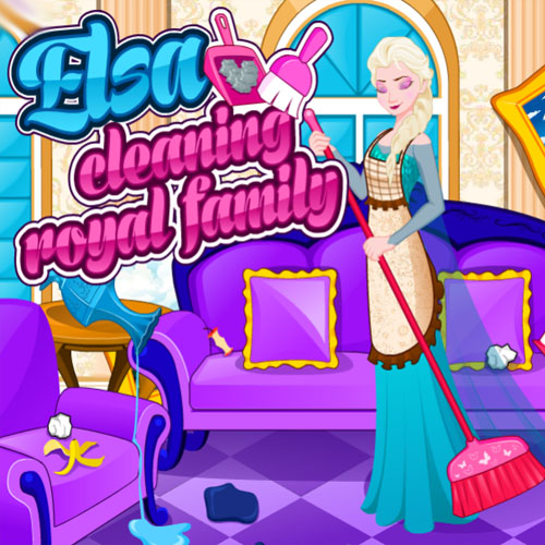 Elsa: Cleaning Royal Family