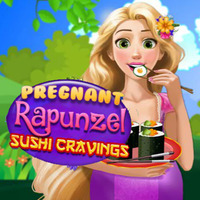 Pregnant Rapunzel: Sushi Cravings