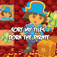 Sort My Tiles: Dora The Pirate
