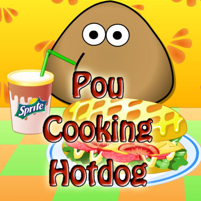 Pou: Cooking Hotdog